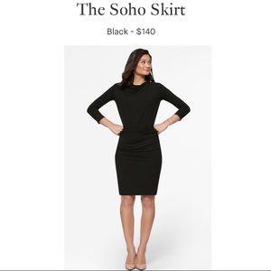 MM. LAFLEUR The Soho Skirt in Black